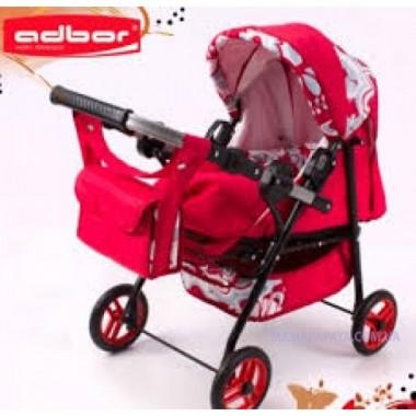 Кукольная коляска Mini Ring Adbor Адбор