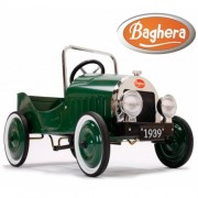 Педальная машина Baghera Classique Verte Green 1939