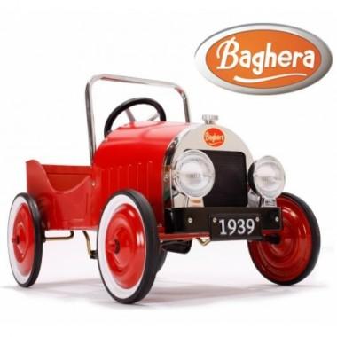 Педальная машина Baghera Classic Rouge 1939