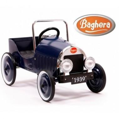 Педальная машина Baghera Classiс Blue 1939