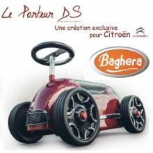 Машинка каталка Baghera Citroen DS