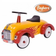 Машинка каталка Baghera Speedster Silver Flamme
