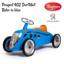 Машинка каталка Baghera Ride-on Peugeot 402 Darl'Mat Rider in Blue