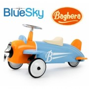 Каталка-толокар Baghera Ride-on Speedster Avion Sky Blue Plane Самолет