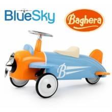 Каталка-толокар Baghera Ride-on Speedster Avion Sky Blue Plane Самолет