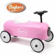 Машинка каталка Baghera Racer Pink