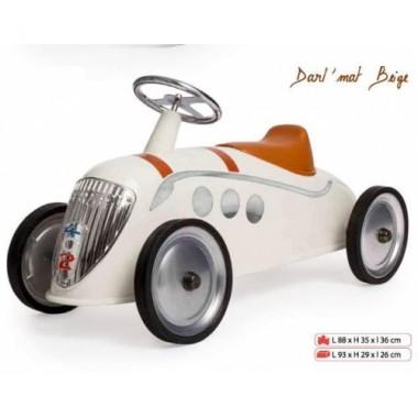 Машинка каталка Baghera Rider XL Peugeot 402 Darl'Mat Rider in Beige