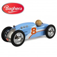 Машинка Baghera Mini Metal Car Rocket blue