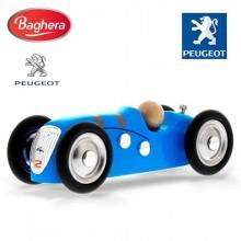 Машинка Baghera Mini Metal CAR Peugeot 402 blue