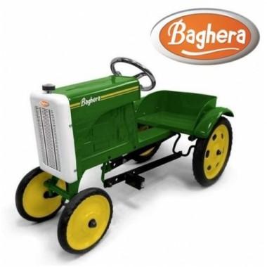 Педальная машина трактор Baghera Tractor