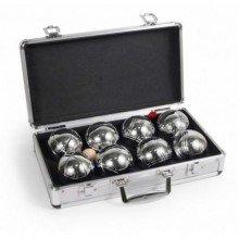 Набор для игры в Бочче Петанк 8 шаров в алюминиевом чемоданчике