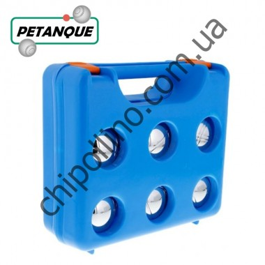 Набор для игры в Петанк Бочче 6 шаров в пластиковом чемоданчике