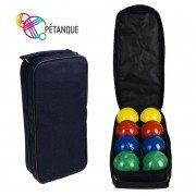Набор для игры в Бочче петанк 8 шаров разноцветные