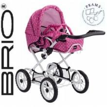 Коляска для куклы BRIO Combi Poppy Doll Pram
