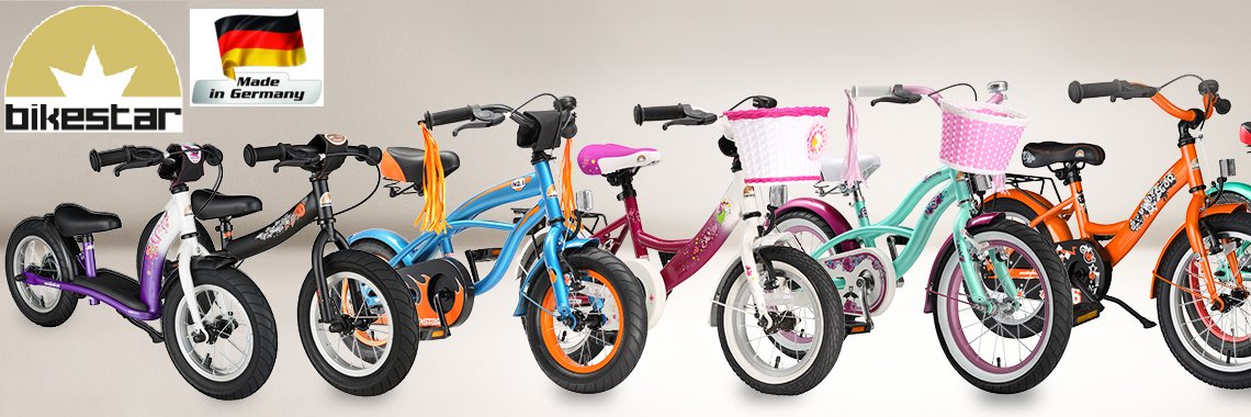 Беговелы BikeStar