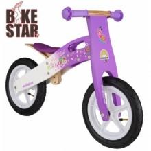 Беговел деревянный Bike Star Wooden Flowers