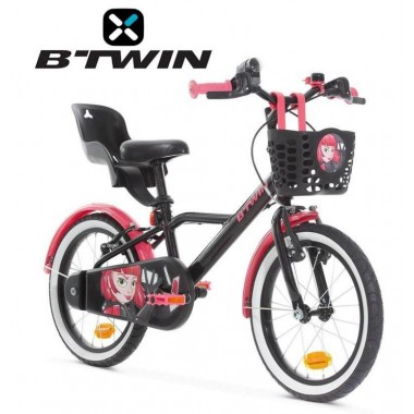 Велосипед детский B'TWIN 900 Spy Hero Girl 16