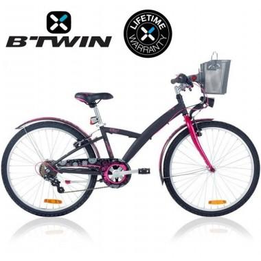 Велосипед детский B'TWIN Poply 500 24 Black