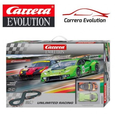 Автотрек Carrera Evolution Unlimited Racing (20025221)