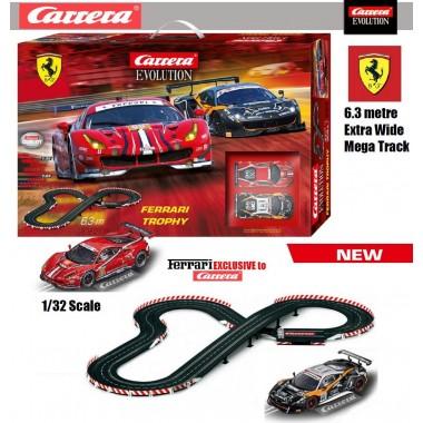 Автотрек Carrera Evolution Ferrari Trophy 6.3 м (25230)