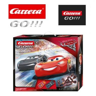 Автотрек Carrera Go Disney Pixar Cars 3 Fast Not Last (20062416)
