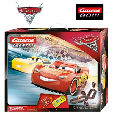 Автотрек Carrera Go!!! Disney Pixar Cars 3 Fast Friends 5 м (62419)