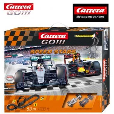 Автотрек Carrera Go Speed Stars (20062425)