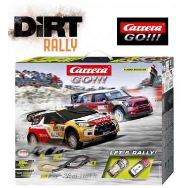 Автотрек Carrera GO!!! Let's Rally! 3.6 м (62433)