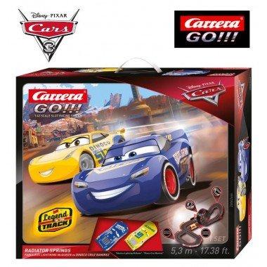 Автотрек Carrera Go!!! Disney Pixar Cars 3 Radiator Springs 5,3 м (62446)