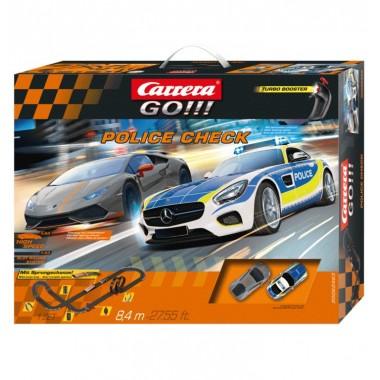 Автотрек Carrera Go!!! Police Check 8.4 м (20062463)