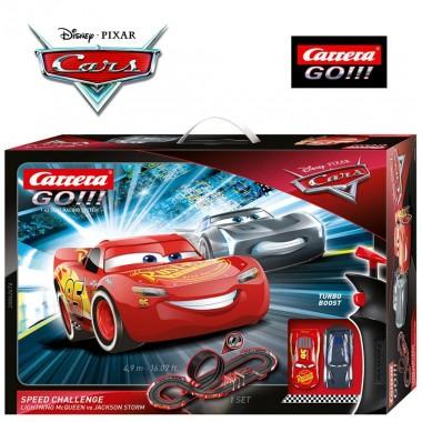 Автотрек Carrera Go!!! Disney Pixar Cars Speed Challenge (62476)