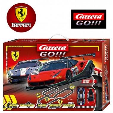 Автотрек Carrera Go!!! High Speed Contest 8,6 м (62487)