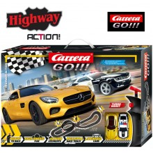 Автотрек Carrera Go!!! Highway Action 5.4 м (62493)
