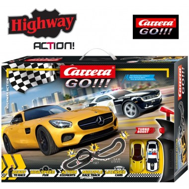 Автотрек Carrera Go!!! Highway Action 5.4 м (62493)
