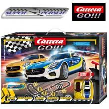 Автотрек Carrera Go!!! Super Pursuit 8.4 м (62494)