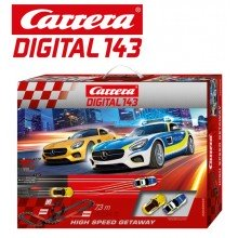 Автотрек Carrera DIGITAL 143 High Speed Getaway 40038 7.3м