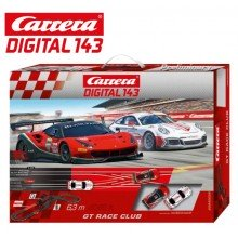 Автотрек Carrera DIGITAL 143 GT Race Club 40039