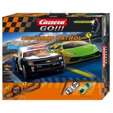 Автотрек Carrera Go Highway Patrol 5,4 м (62371)
