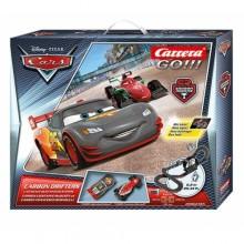 Автотрек Carrera Go DISNEY PIXAR Carbon Drifters 6,2 м (62385)