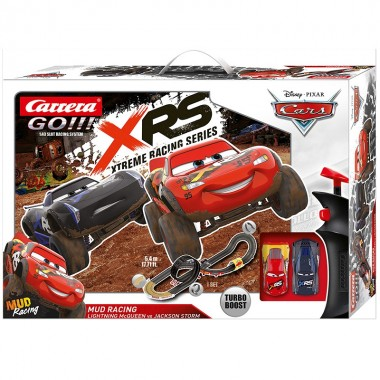 Автотрек Carrera Go Disney Pixar Cars Mud Racing 62478 5.4м
