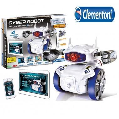 Программируемый робот конструктор Cyber Robot Clementoni CLE60596