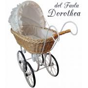 Коляска для кукол плетеная del Fasla Dorothea