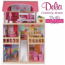 Кукольный домик Country house Delia doll house