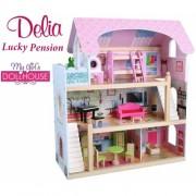 Кукольный домик Lucky Pension Delia doll house