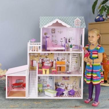 Кукольный домик Beverly Hills Delia doll house с гаражом