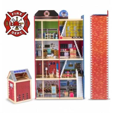 Кукольный домик Delia Пожарная часть