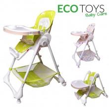Стульчик для кормления Ecotoys Baby Care ACE1015G