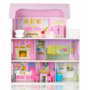 Кукольный домик деревянный ECOTOYS Country mansion
