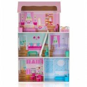 Кукольный домик деревянный ECOTOYS Fashion house