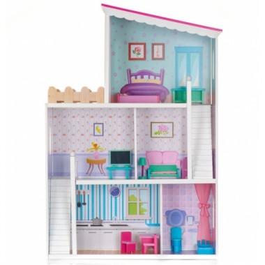 Кукольный деревянный домик ECOTOYS Guest house for friends